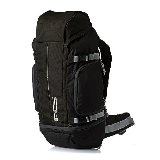 fa83f00c0435 Amazon.com  FCS Trekker Surf Backpack One Size Black  Sports   Outdoors