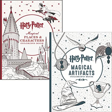 Amazon Com Set Harry Potter Magical Places And Characters