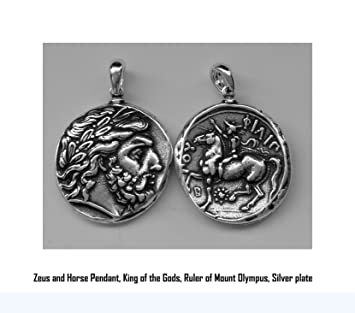 Percy jacksons necklace thalia graces father the greek god zeus percy jacksons necklace thalia graces father the greek god zeus coin pendant 4pend mozeypictures Gallery