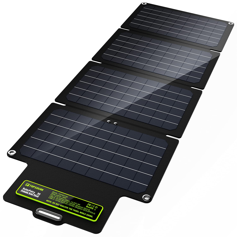 UPGRADE Topsolar SolarFairy 30 Foldable Solar Panel 30W