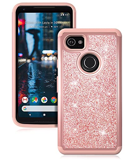 3fb1ac0c05e Amazon.com  Dailylux Google Pixel 2 XL Case