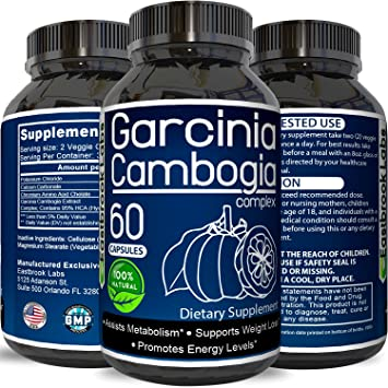95 Hca Garcinia Cambogia Extract Supplement To Lose Weight Fast Fat Burning Weight Loss And