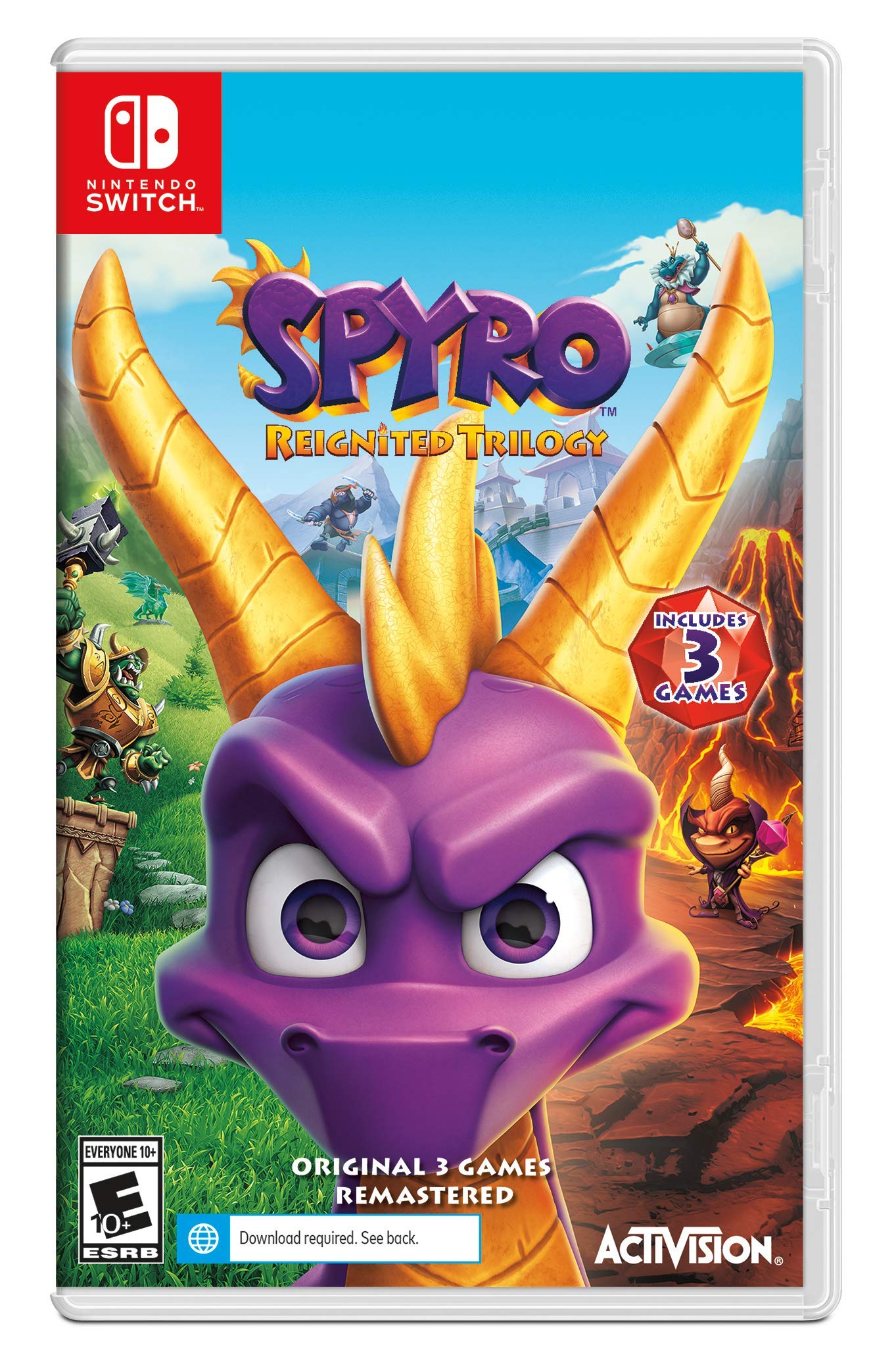 Spyro Reignited Trilogy - Nintendo Switch Standard Edition by Activision (Image #6)