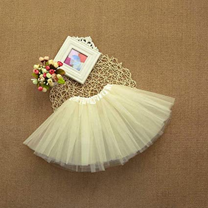 c0c74e55f34c Amazon.com - Suma-ma Baby Girls Kids Cute Solid Tutu Ballet Skirts ...