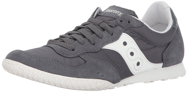 Saucony Originals Women's Bullet Sneaker B01N1FT6BP 12 B(M) US|Charcoal Cream
