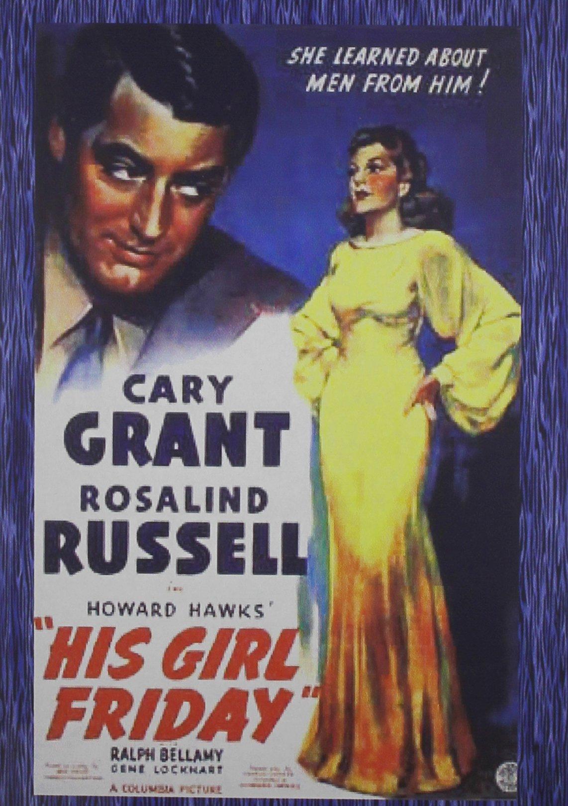 DVD : His Girl Friday (DVD)