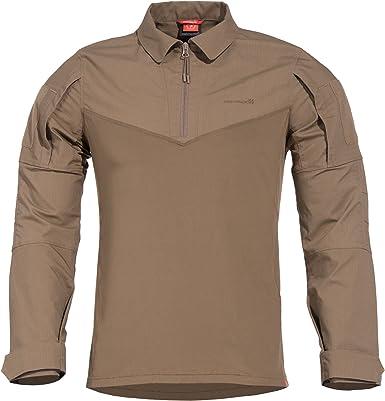 PENTAGON Ranger Shirt, Size, Colour Camisa, Marrón (Coyote 03), X-Large (Talla del Fabricante: Extra Large) para Hombre: Amazon.es: Ropa y accesorios