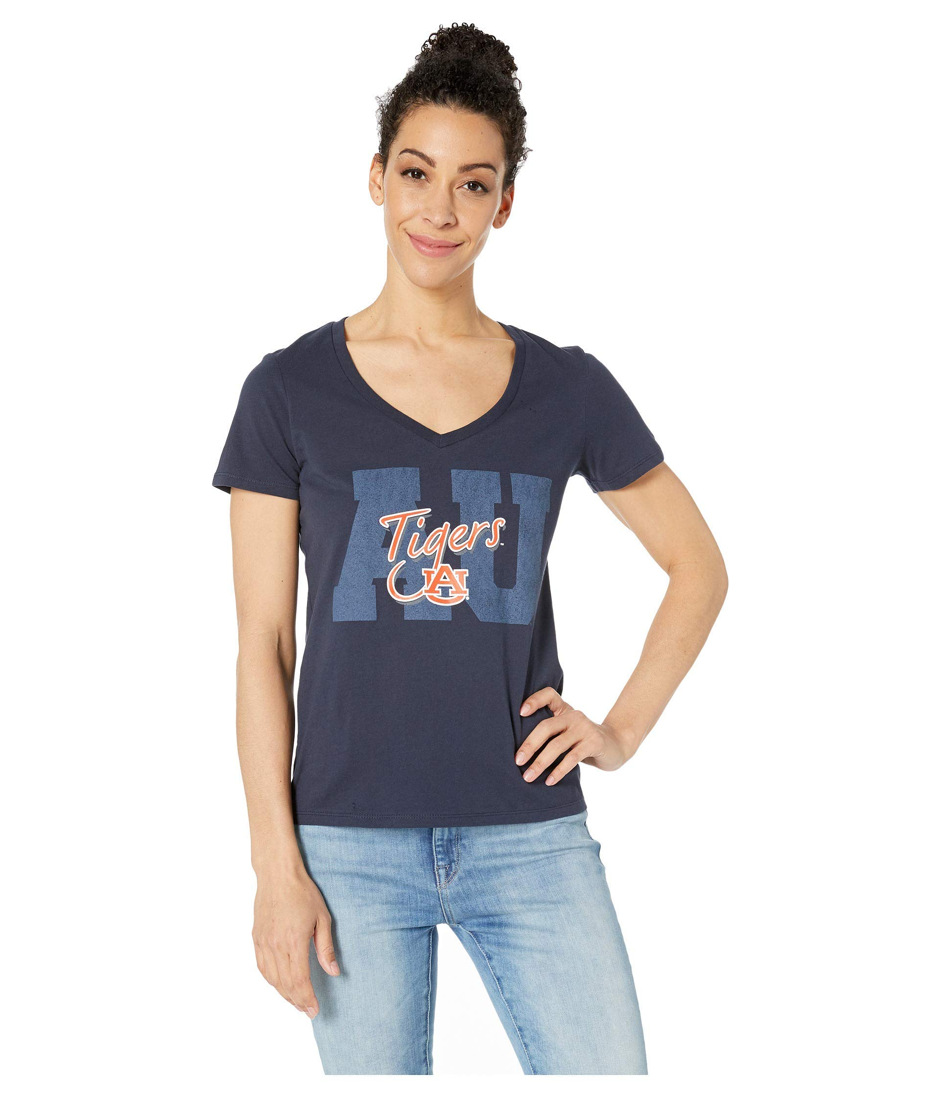 Champion College Women's Auburn Tigers University V-Neck Tee