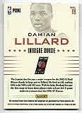 2012-13 Panini Intrigue Basketball Damian Lillard