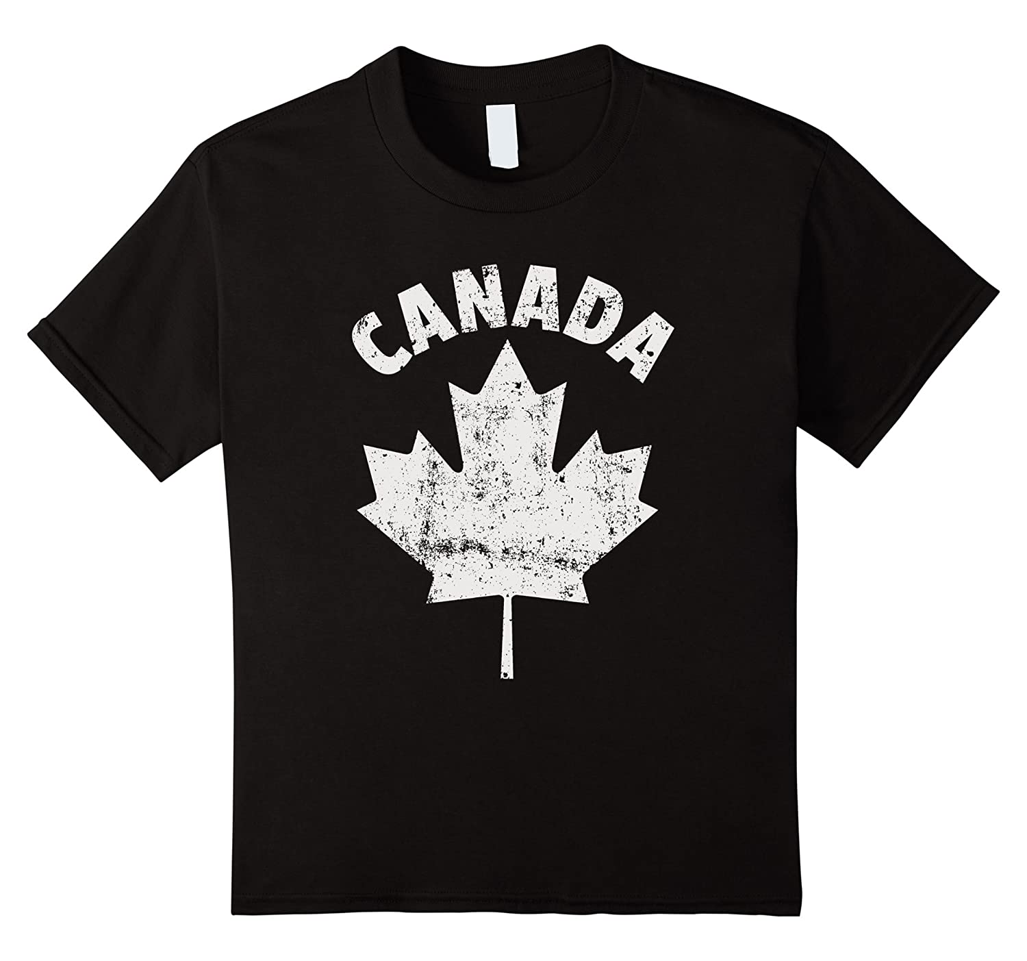 CANADA White Canadian T Shirt Cranberry-Veotee