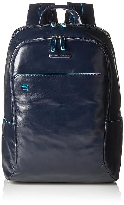 25 opinioni per Piquadro CA3214B2/BLU2 Zaino, Collezione Blue Square, 39 cm, Blu
