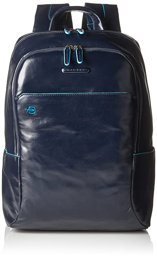 Amazon.com | Piquadro Computer Backpack with Padded Ipad/Ipadmini Compartment, Dark Blue | Backpacks