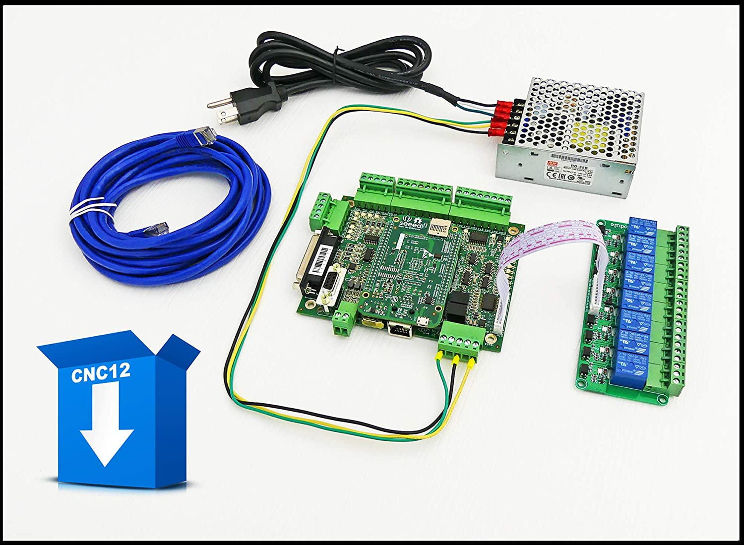 centroid 4 axis acorn diy cnc motion controller kit (rev 4) with cnc software, replaces machmotion,wincnc,mach3,emc2,kcam4,smooth stepper  ethernet smoothstepper g540 wiring diagrams #12
