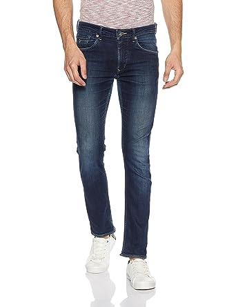 Flying Machine Men's Skinny Fit Jeans (8907378841131_FMJN3816_32W x  33L_Black)
