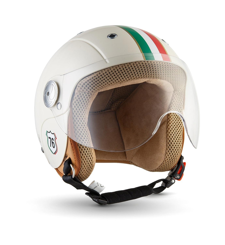 SOXON SK 55 Kids Imola · Kinder Jet Helm Cruiser Kinder Helm Jet Helm Retro Roller Helm Bobber Mofa Chopper Helmet Biker Pilot Kids Scooter Helm