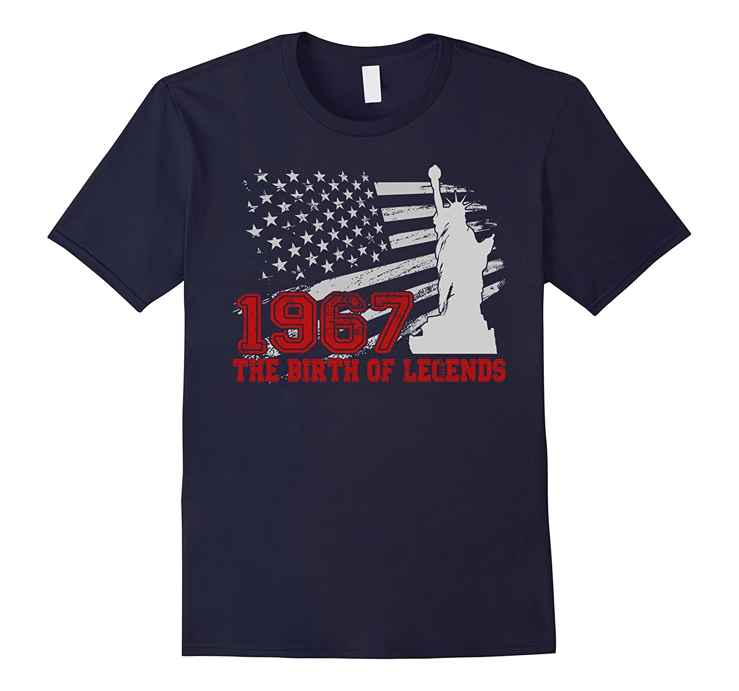 1967 The Birth of legends , 50 Years Old Birthday Gift Shirt