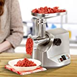 YHG 1800W Electric Meat Grinder Commercial Stainless Steel Sausage Stuffer Machine