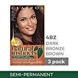 Clairol Natural Instincts Hair Color, Shade 4bz/27a
