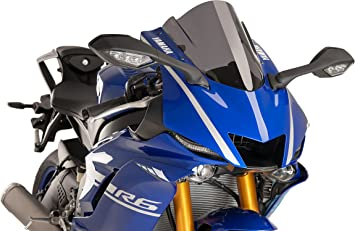 NEW YAMAHA YZF-R1 2000 BLUE DOUBLE BUBBLE AIRBLADE SCREEN
