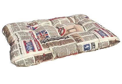 Cojín tipo colchón para mascotas, 60 x 40 cm, grosor: 10 cm,