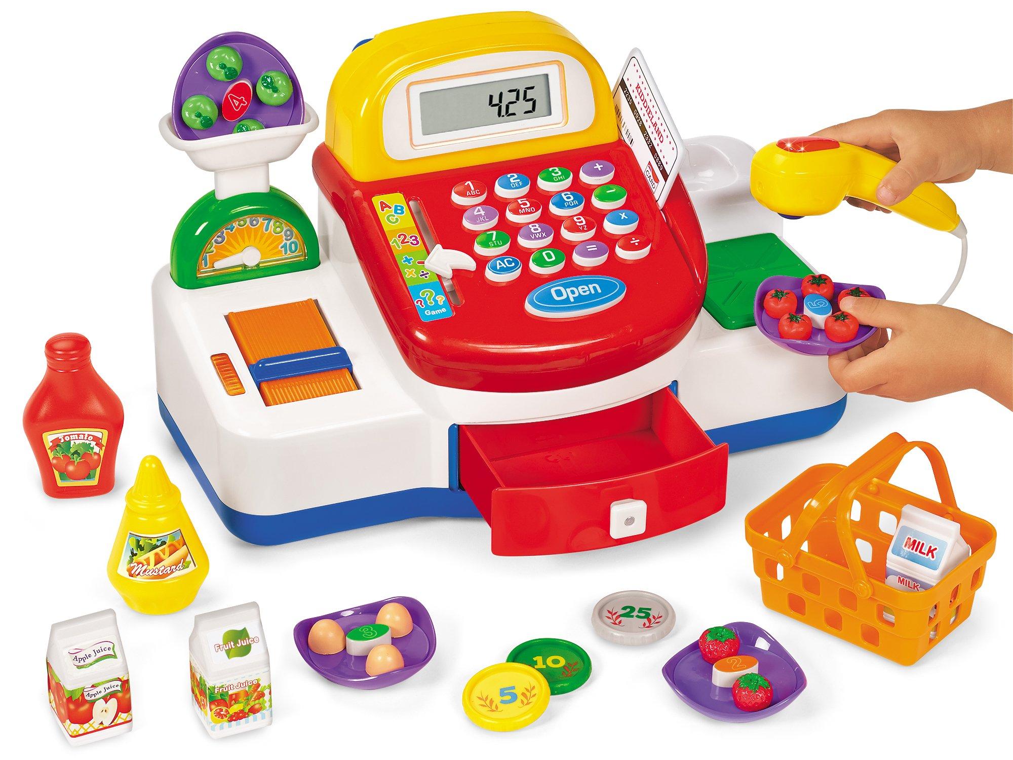 Lakeshore Let's Go Shopping Cash Register