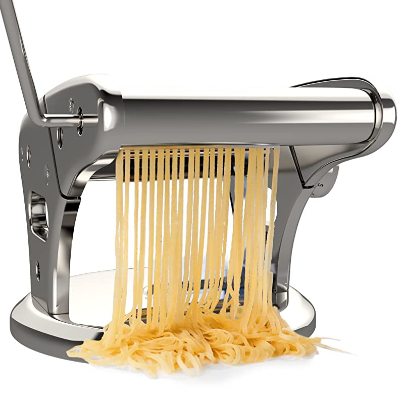 bonVIVO® Pasta Mia (NOUVEAU DESIGN) - Machine A Pates En Acier ...