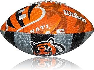 Wilson Football NFL Junior Cincinnati Bengals Logo, multicolore, 5, WTF1534x BCN WTF1534x BCN WTF1534XBCN