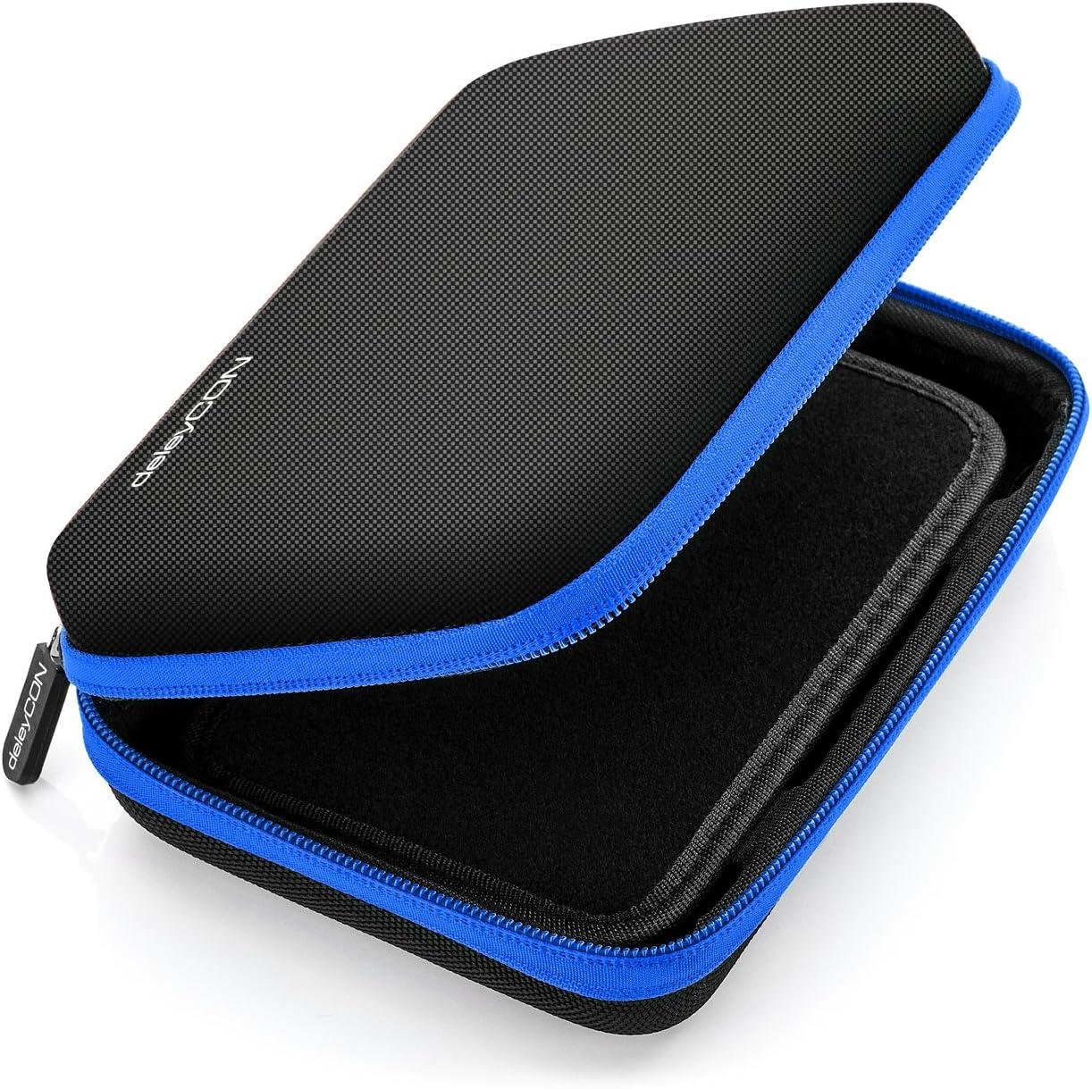 deleyCON Navi Case Funda para Dispositivos de Navegación de hasta 6 &