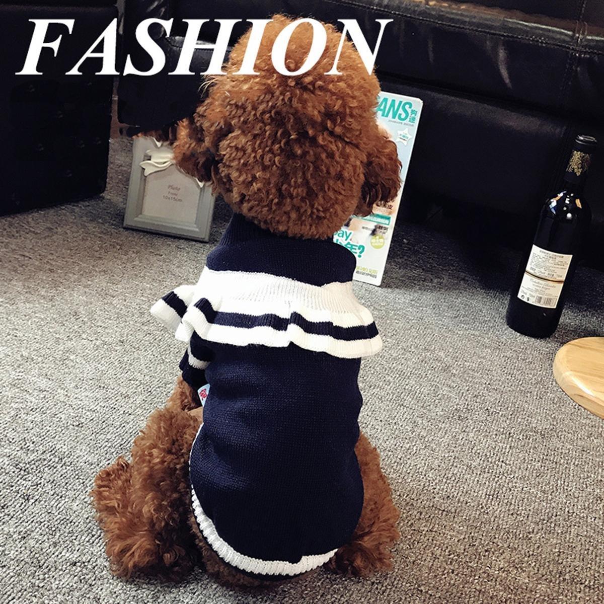 18d7af2f1487 SASA Ropa Ropa Ropa para Perros Suéter de Peluche Ropa de otoño e Invierno  Disfraces de Perros pequeños para Gatos