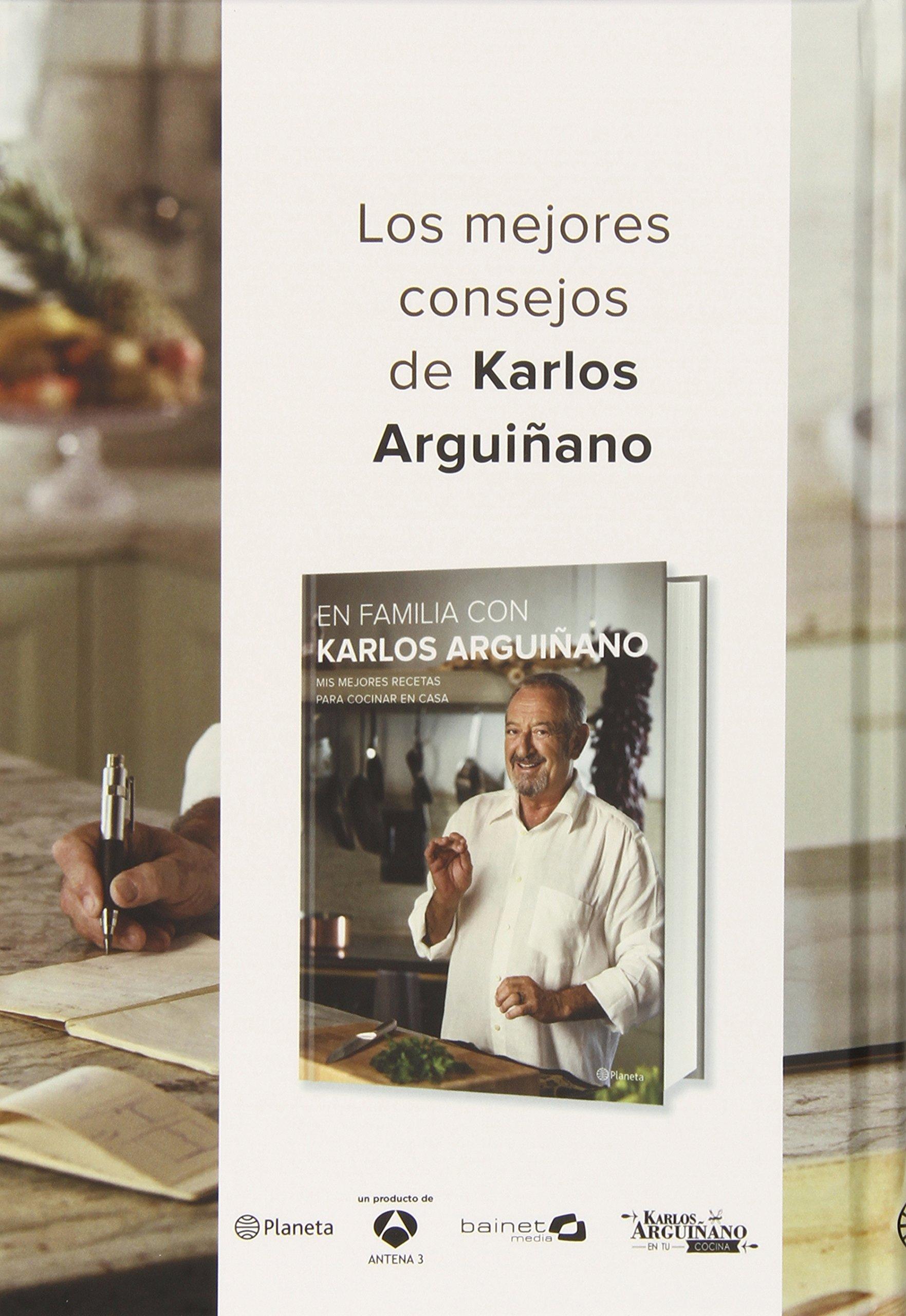 Pack En Familia Con Karlos Arguiñano Cocina planeta: Amazon.es: Karlos Arguiñano: Libros