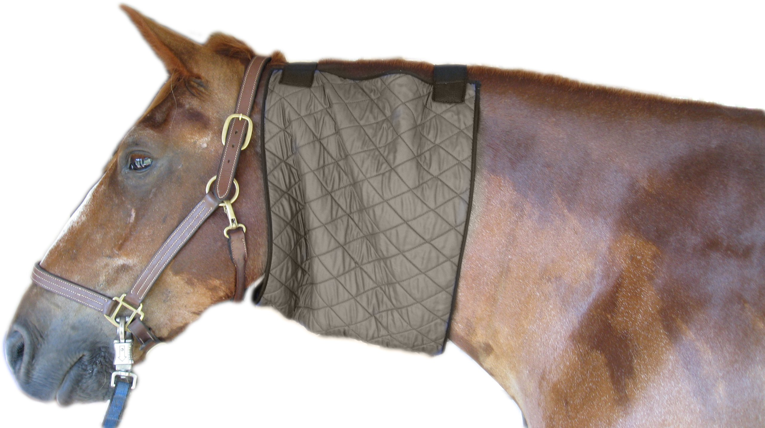 HyperKewl Evaporative Cooling Horse Neck Wrap, Large, Silver by HyperKewl