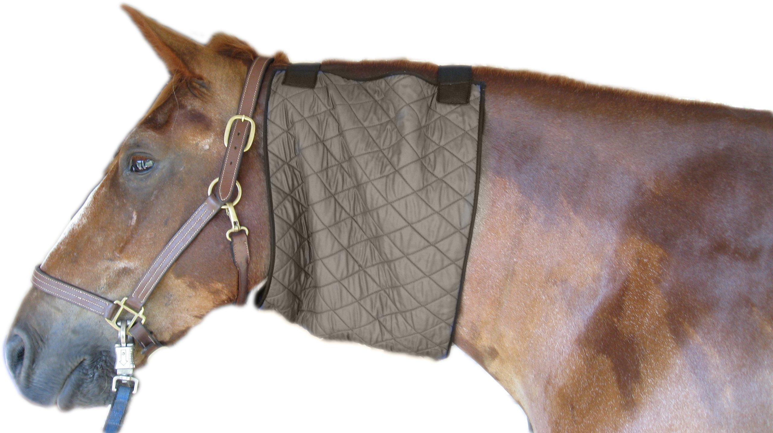 HyperKewl Evaporative Cooling Horse Neck Wrap, Large, Silver