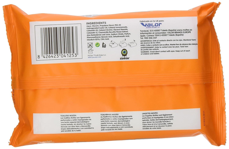 MOLTEX toallitas para bebés envase 64 uds: Amazon.es: Alimentación y bebidas