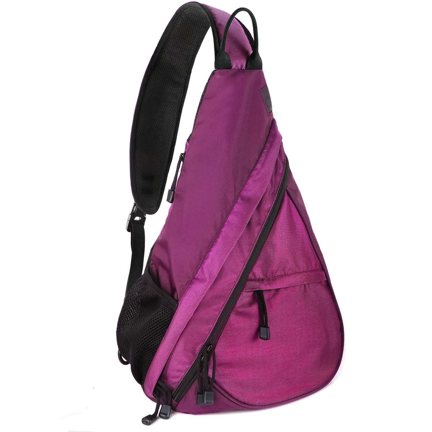 657bfaa030 Amazon.com  Unigear Sling Bag Backpack Shoulder Crossbody Bag Chest  Pack-Medium Water Resistant Travel Backpack for Men Women (Purple)  Sports    Outdoors