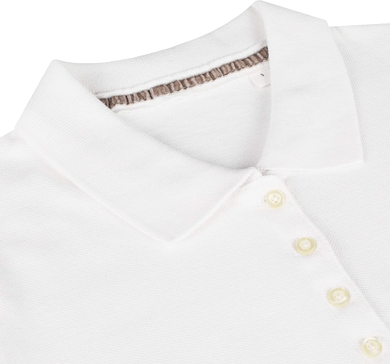 Mantis World Womens Premium Pique Short Sleeve Cotton Polo Shirt