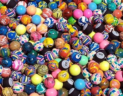 Amazon.com: Assorted 27 mm Premium Bouncy bolas (500 Count ...