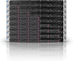Enterprise Proliant DL360p G8 Server | 2X 2.60Ghz 16 Cores | 128GB | P420i | 8X 600GB 10K (Renewed)