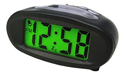 Acctim 14193 Eclipse Reloj Digital Solar con Alarma, Color Negro