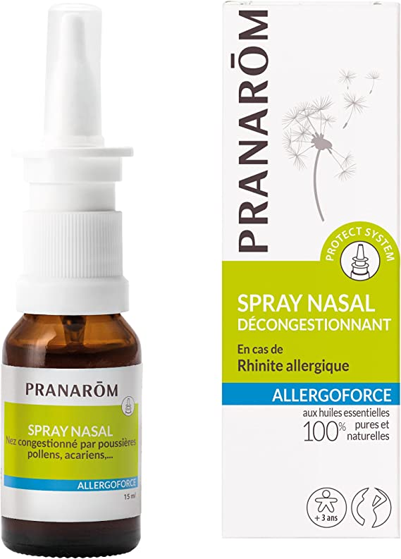 Pranarôm Allergoforce Spray Nasal 15ml: Amazon.es: Salud y cuidado ...