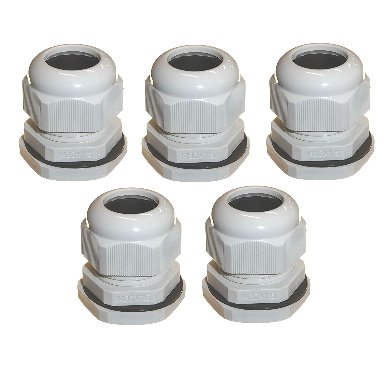 10 Pcs 20mm Bulk Compression Cable Gland JoInts Connector Stuffing Waterproof