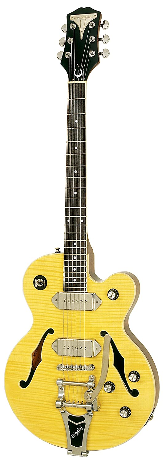 Epiphone WILDKAT Semi-Hollowbody Electric Guitar with Bigsby Tremolo