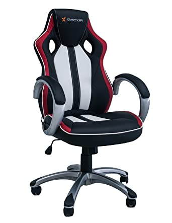 Phenomenal X Rocker Rogue Faux Leather Black Red White 59 X 69 X 127 Uwap Interior Chair Design Uwaporg