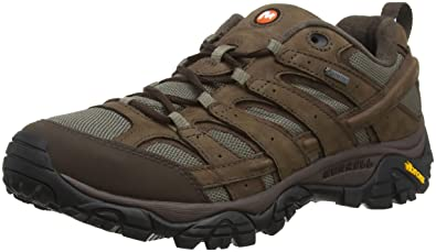 70166f58ef Merrell Men's Moab 2 Smooth GTX Low Rise Hiking Boots