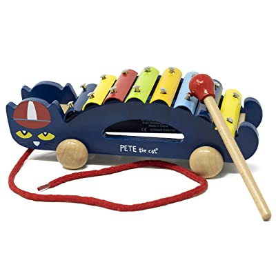 Pete The Cat - Pull Along Xylophone Music Toy for Toddlers : Baby