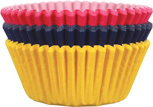 Multicolore Carta PME Fantasia Cuore Pirottini per Cupcake e Muffin 100 unit/à