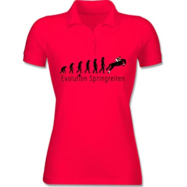 bcpw455 Polo Camiseta Mujer Mujeres de Manga Corta Algodón Piqué ...