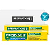 Preparation H Max Strength Cream 1.8 Ounce Tube, 2 Count