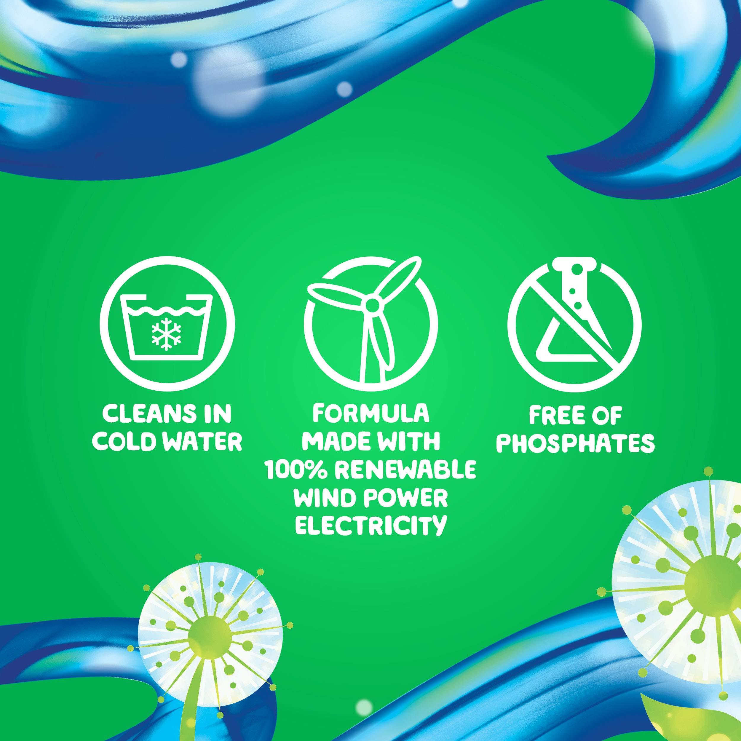 Gain flings! Liquid Laundry Detergent Pacs, Blissful Breeze, 96 Count by Gain (Image #10)