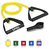 SPRI Xertube Resistance Bands Exercise Cords with Handles Attached (All Exercise Bands Sold Separately) - Door Attachment Anc