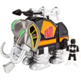 Fisher-Price Imaginext Power Rangers Black Ranger And Mastadon